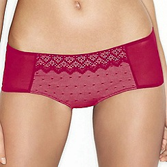 Wonderbra - Red pixel lace short
