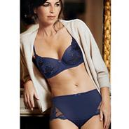 Dark blue 'Elegant curves' bra
