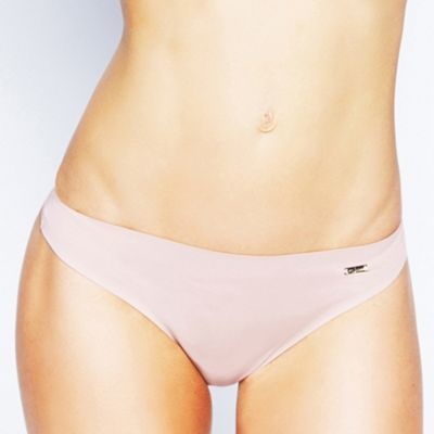 Natural Adorable bonded thong