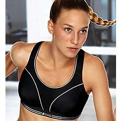 Shock Absorber - Black ultimate run sports bra