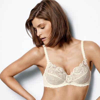 Ivory Romantic Desire non padded bra