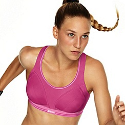 Shock Absorber - Pink 'Ultimate Run' sports bra