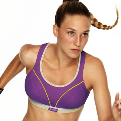 Purple Run extreme support running bra