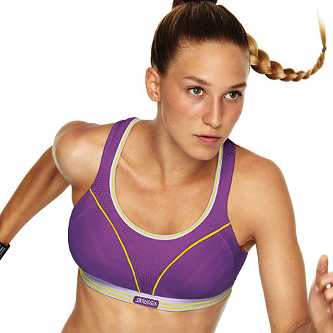 Shock Absorber - Purple +Run+ extreme support running bra