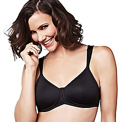 Amoena - Black 'Lara Comfort' non-wired non-padded mastectomy bra