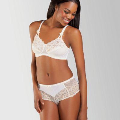 Amoena Ivory ´Karla´ pretty lace non wired post surgery bra - . -