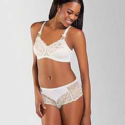 Amoena - Ivory 'Karla' pretty lace non wired post surgery bra