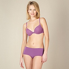 Wonderbra - Purple super soft t-shirt bra