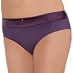 Amoena - Purple 'Lara satin' briefs