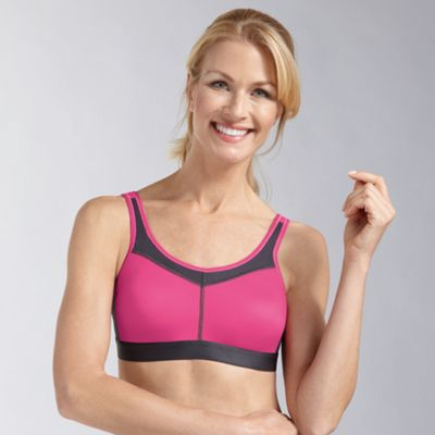 Amoena Bright pink support sports bra - . -