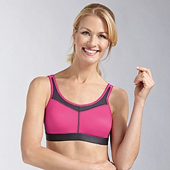Amoena - Bright pink support sports bra