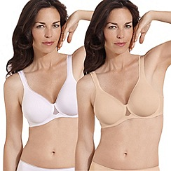 Playtex - Absolute Comfort Underwired Bra Twinpack