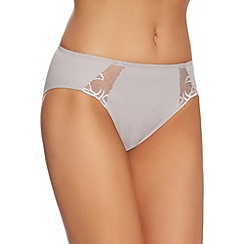 Triumph - Grey 'Flower Passione' tai briefs
