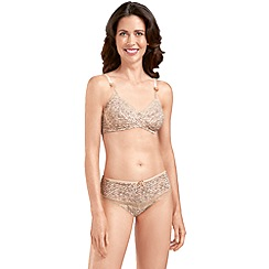 Amoena - Taupe 'Lucy' non wired mastectomy bra