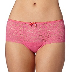 Debenhams - Light pink lace shorts