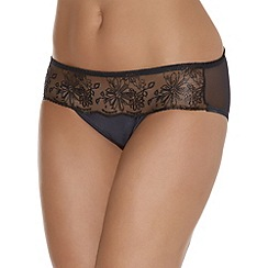 Triumph - Black hipster brief