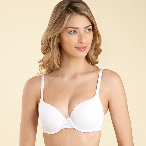 Debenhams - White age defying t-shirt bra