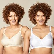 Pack of two non-wired bras