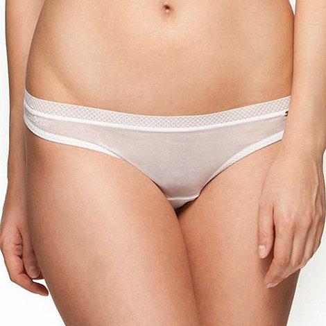 Gossard - White +Glossies+ thong