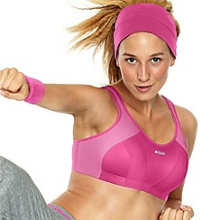 Playtex - Pink 'Active' multi sports support bra