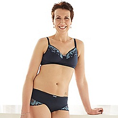 Spirit Post Surgery - Blue non-padded mastectomy bra