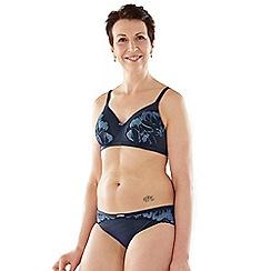 Spirit Post Surgery - Blue padded mastectomy bra