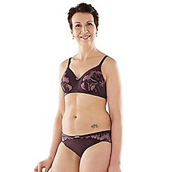 Spirit Post Surgery - Purple padded mastectomy bra