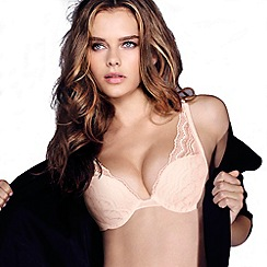 Wonderbra - Light pink 'My Pretty Push Up' bra