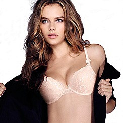 Wonderbra - Light pink 'My Pretty Push Up Cleavage' bra