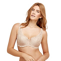 Playtex - Natural flower lace lightly padded bra