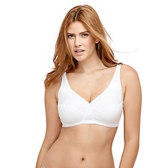 Playtex - White lace non padded bra