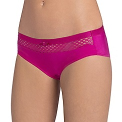 Triumph - Pink 'Beauty Full Basics' hipster briefs