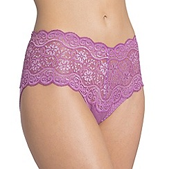 Triumph - Purple 'Amourette 300' maxi brief