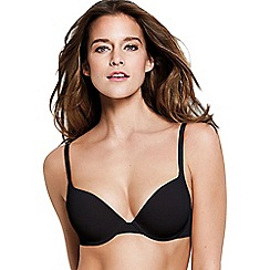 Wonderbra - Black underwired padded t-shirt bra