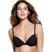 Wonderbra black t-shirt bra