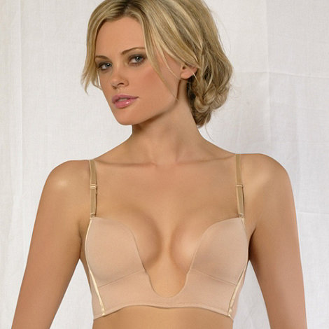 Fashion Forms - Nude Convertible U plunge bra