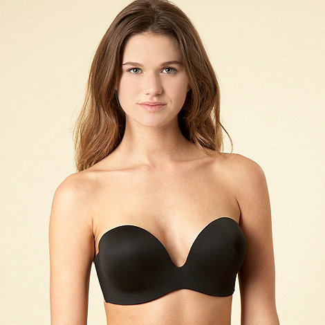 Fashion Forms - Ultimate Boost black backless and strapless bra