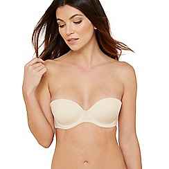 Debenhams - Natural underwired padded multi-way bra