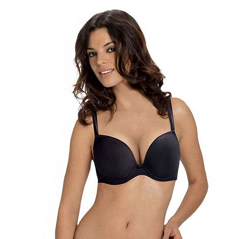 Wonderbra - Black t-shirt Up to a G-Cup Bra