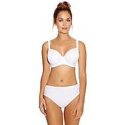 Fantasie - White 'Moulded Smooth' t-shirt bra