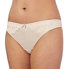Ultimate - Nude lace thong