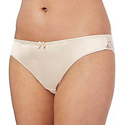 Ultimate - Nude lace brazilian briefs