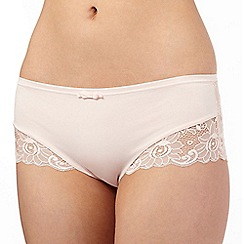 Spirit - Light pink floral lace hipster briefs
