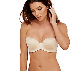 The Collection - Nude 24 hour silicone-free strapless bra