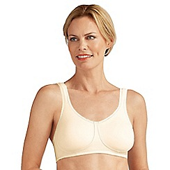Amoena - Cream 'Katy' non-wired non-padded mastectomy bra