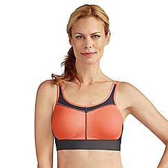 Amoena - Orange power sports bra