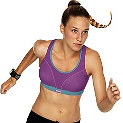 Shock Absorber - Purple run sports bra