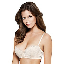Wonderbra - Ivory 'Refined Glamour' non-wired non-padded balcony bra
