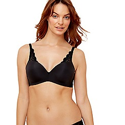 Triumph - Black 'Amourette 300 Magic Wire' bra