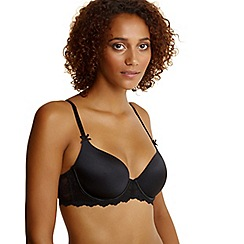 Debenhams - Black lace wing t-shirt bra